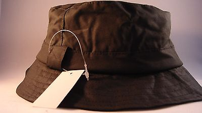 Fishing, Leisure Country Style  Hat - Olive.wax Bush Backet, Size M 58Cm
