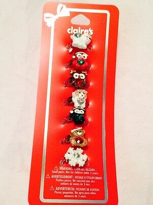Claire's Christmas Ring Set