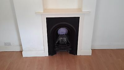 **Victorian Cast Iron Fireplace And Surround**