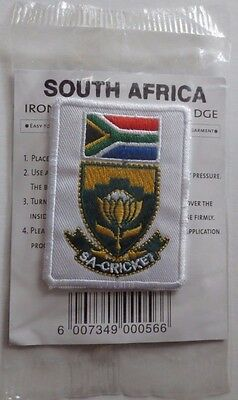 South Africa Cricket Iron on Patch 2003 ICC Cricket World Cup in South Africa