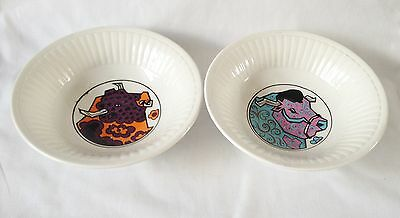 Beefeater Cereal Bowls x 2 - English Ironstone Pottery Ltd
