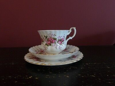 "Royal Albert ""Lavender Rose"" Tea Set"