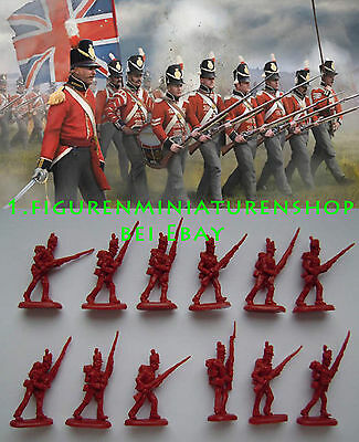 1:72 FIGUREN 145 British Infantry in Attack - STRELETS NEU