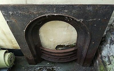 Old cast iron fire surround project