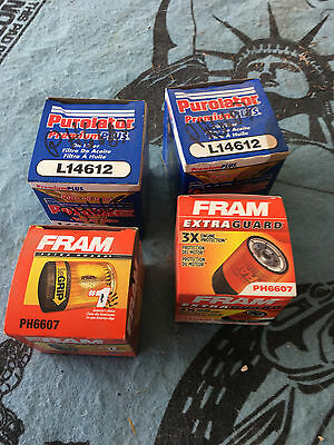 Ph6607 Lot Of 4 New Oil Filters