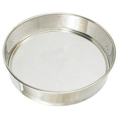 Sieve,Stainless Steel,12-1/4 In RSS12