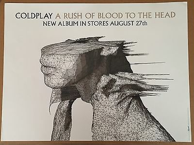Coldplay Rush Of Blood To The Head Poster