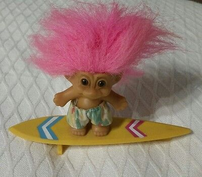 Troll SURFER Doll Vintage. Russ TROLLS THE MOVIE Collectable. Boys or Girls