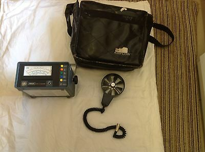 Airflow anemometers. Used EDRA 6