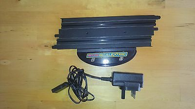Hornby Micro Scalextric Power Supply P9500W + Power Supply Base Start Track