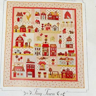 Tiny Town Quilt Fabric Kit and Pattern by Bunny Hill Designs Block of the Month