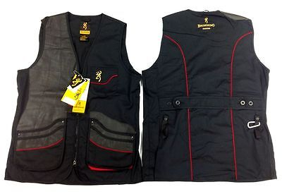 Browning Masters Shooting Vest,rh,black, Small, Bnwt