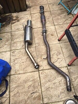 fiat coupe 20v turbo exhaust