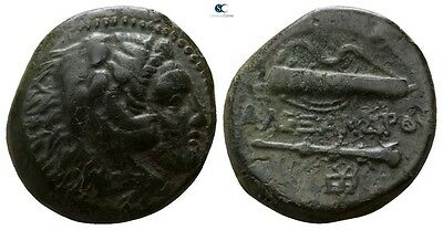 Savoca Coins Alexander The Great Herakles Gorytos Club 5,64 g / 18 mm @GSG13773