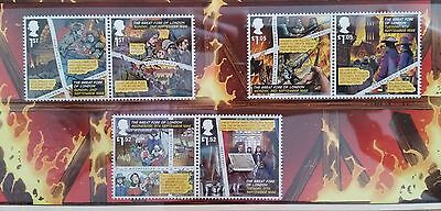GB QEII Comm. Stamps. 2016 (SG n/a) The Great Fire of London. MINT ex pres. pack