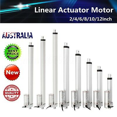 4-18'' DC 12V 1500N Linear Actuator Motor For Auto Car RV Electric Door Opener