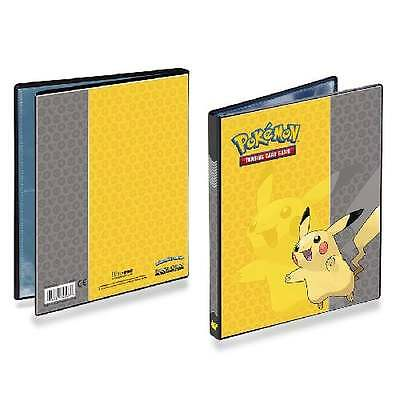 ULTRA PRO POKEMON PIKACHU 4-Pocket Portfolio Card Album Folder A5 Holds 80 Cards