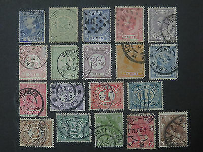Netherlands Collection - 12 Pages - 210+ Different Stamps - High CV