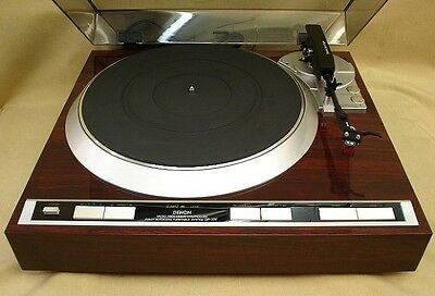 DENON DP-37F direct drive turntable player