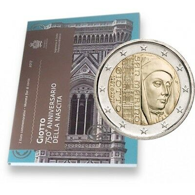 2 euro 2017 San Marino Giotto folder official BU