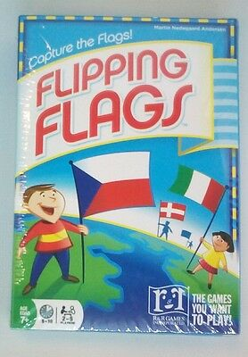 Flipping Flags: Capture the Flags - card game