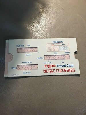 Exxon Travel Club Metric Converter