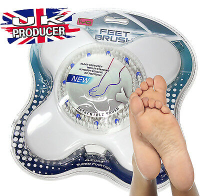 Massaging Spa Foot Brush Massager Scrubber Shower Feet Bath