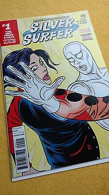 SILVER SURFER #9 (2017) 1ST PRINTING BAGGED & BOARDED (Charity Auction)