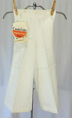 Vintage girls Cinderella 70s Pants Slacks Bell Bottoms Dead Stock sz 6