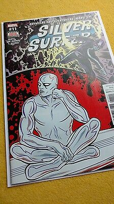 SILVER SURFER #11 (2017) 1ST PRINTING BAGGED & BOARDED (Charity Auction)
