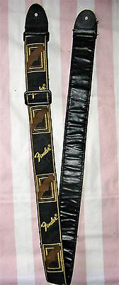 sangle guitare électrique vintage FENDER Fender Monogramm Strap BYB