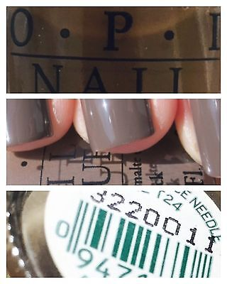 OPI Nail Polish Lacquer NEW 15ml # A-TAUPE THE SPACE NEEDLE  Free Postage