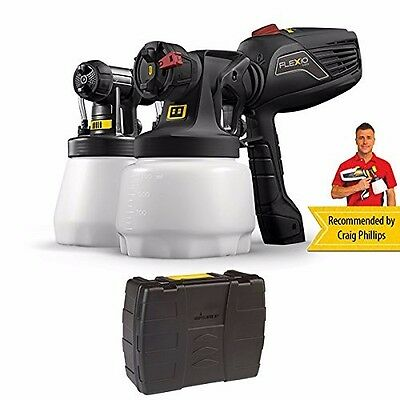 Wagner Universal Paint Sprayer W599 with Carry Case RRP £209. Save £££