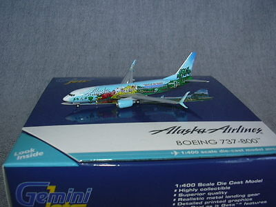 Gemini Jets Phoenix 737-800 Alaska Spirit of the Islands N560AS 1-400