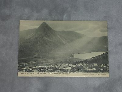 Tryfaen Llyn Ogwen North Wales Abrahams 48 Vintage climbing mountaineering