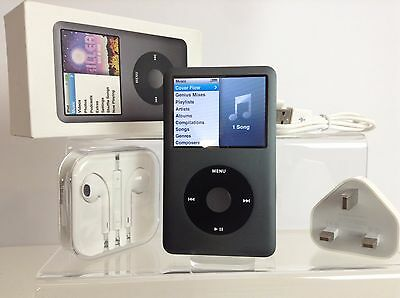 Apple iPod Classic 7th Generation Black / Space Grey (240GB) - PRISTINE (Boxed)