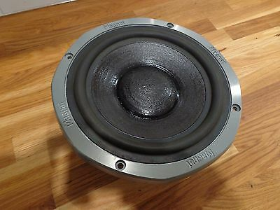 """Magnat Mc203 102 All Ribbon 9"""" Woofer Dahlquist Dqm-9 V Very Good Condition 7P"""