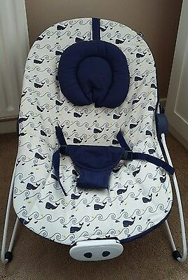 Mothercare baby bouncy chair with music and vibration