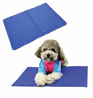Pet Cooling Gel Mat For Dog Cat Cool Pad Bed Mattress Heat Relief Non-Toxic