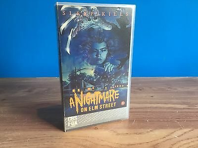 A Nightmare On Elm Street - Rare 1St Edition 18 - Horror Vhs Video Cassette Tape