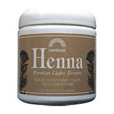 Henna PERSIAN LIGHT BROWN, 4 OZ by Rainbow Research