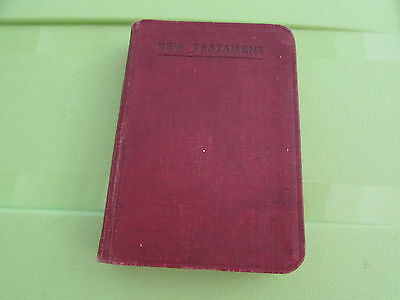 RARE WW1 Named Bible  Womens Royal Air Force  Unsearched