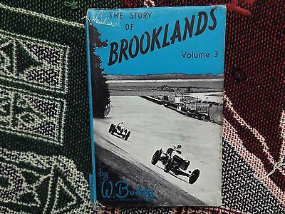 The Story Of Brooklands Volume 3 - W. Boddy - 1950 Hb Dj Book