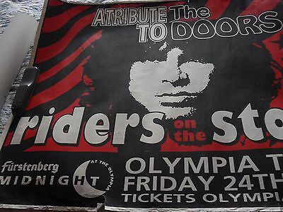 Job Lot. 11 Jim Morrison and the Doors Posters & tribute poster from 1994.
