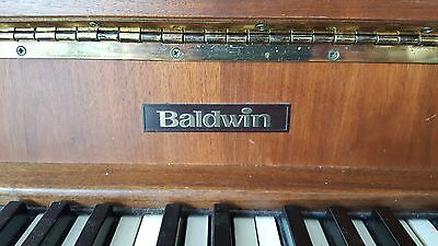 Mid Century TEAK BALDWIN UPRIGHT PIANO