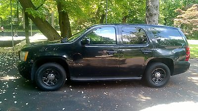 2008 Chevrolet Tahoe PPV PACKAGE POLICE POLICE PPV PACKAGE BLACK LOW MILES FLEET MAINTAINED RUNS GREAT CLEAN TITLE