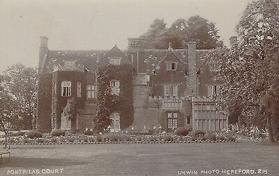 Pontrilas Court, Country House, Pontrilas, Herefordshire. Rp, C1910.