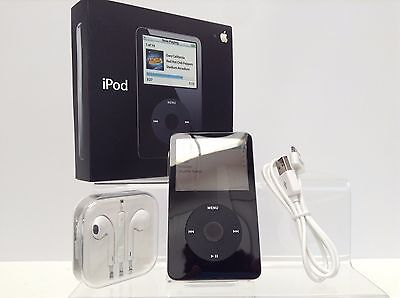 Apple iPod Classic Video 5th 5.5th Generation Black (30GB) - PRISTINE (Boxed)