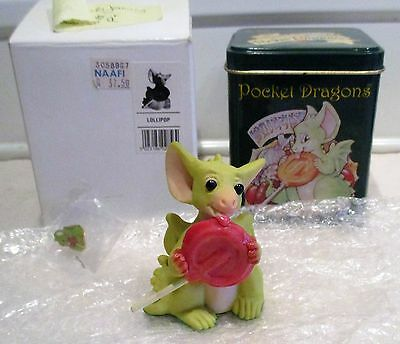 Pocket Dragon Lollipop Boxed 1997/98 Club Joining Piece With Pin