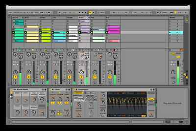 ABLETON LIVE LITE 9 Windows or Mac DAW Music Production Software